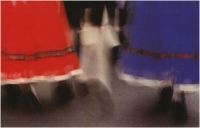 """Augusto Parlavecchio """"Balletto folk"""" - Sez. Stampe Colore Ex-aequo"""