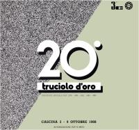 20° Truciolo d'Oro 1988 copertina