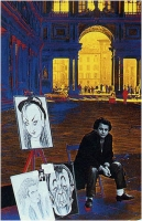 """Gaetano Cavicchi """"Caricature"""" - Sez. DIA Colore Premio Ex-aequo"""