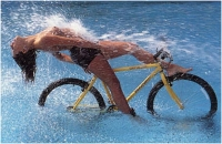 "Roberto Barbetti ""Water-bike"" - Sez. DIA Colore 3° Premio"