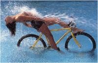 """Roberto Barbetti """"Water-bike"""" - Sez. DIA Colore 3° Premio"""