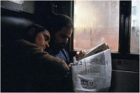 "Gustavo Kuzel ""Sul treno"" - Sez. DIA Colore 3° Premio"