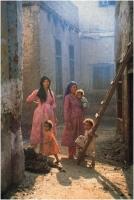"""Alessandro Taddei """"Nel villaggio egiziano"""" - Sez. Stampe Colore 2° Premio"""