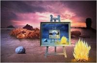 """Giulio Montini """"Omaggio a Magritte 1"""" - Pixel d'Oro"""