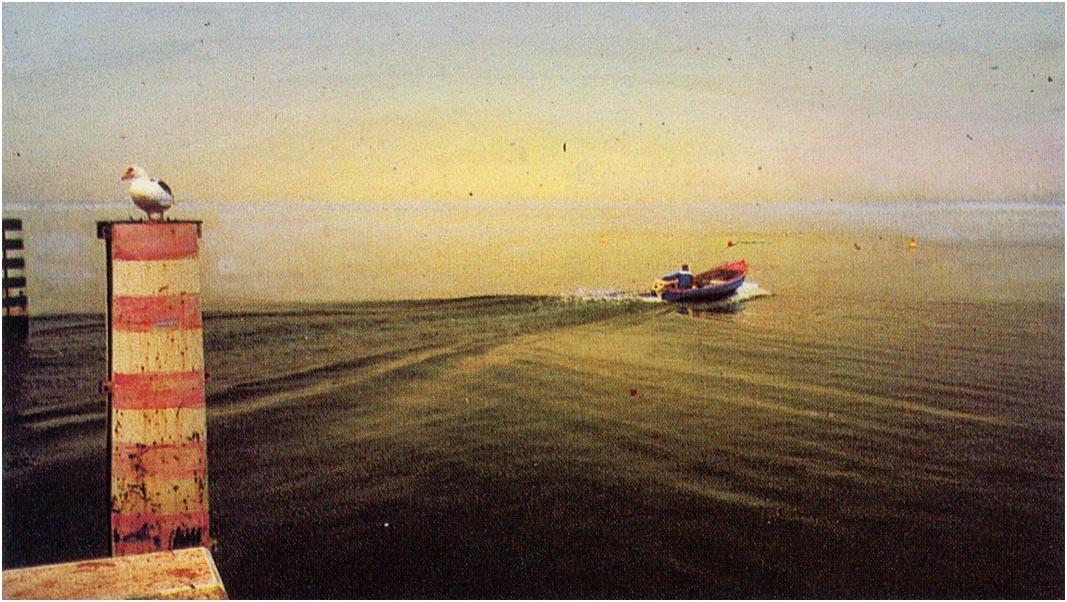 "Diego Speri ""Il mio lago 7"" - Sez. RRSP CLP 2° Premio"