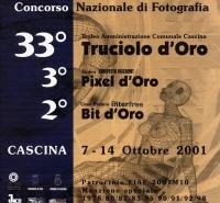 33° Truciolo d'Oro 2001 copertina