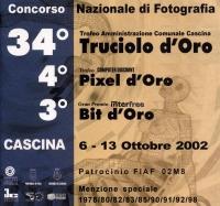 34° Truciolo d'Oro 2002 copertina