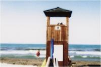 """Massimo Vannozzi """"Ritratto di spiagge nazional-popolari 1"""" - Sez. RRSP Stampe BN/CLP 3° Premio"""