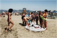 """Massimo Vannozzi """"Ritratto di spiagge nazional-popolari 9"""" - Sez. RRSP Stampe BN/CLP 3° Premio"""