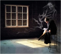 "Vivien Hulbert ""Solitudine"" - Sez. Immagini digitali Tema Libero e Elaborazioni Premio Pixel d'Oro"