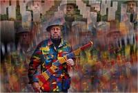 """Eugenio Doretti """"Movimento per la pace 1"""" - Sez. Immagini Digitali RRSP 2° Premio"""