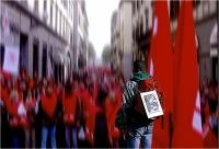 """Eugenio Doretti """"Movimento per la pace 7"""" - Sez. Immagini Digitali RRSP 2° Premio"""