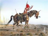 """Kalid Al-Muharraqi (Bahrain) """"Arabian horse warrior"""" - Sez. Immagini di Sintesi Autore Segnalato"""