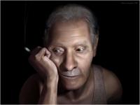 """Marco Lazzarini (Italia) """"My father"""" - Sez. Immagini di Sintesi Autore Segnalato"""