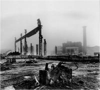 """Aurelio Spinelli """"Paesaggio industriale"""" - Sez. Stampe BN 3° Premio"""