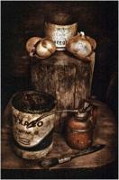 """Mario Spalla """"Still life in light painting 9"""" - Truciolo d'Oro"""