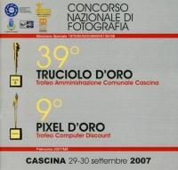 39° Truciolo d'Oro 2007 copertina