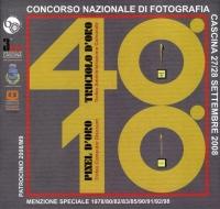 40° Truciolo d'Oroa 2008 copertina