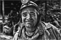 """Giulio Montini """"Il minatore"""" - Sez. Stampe BN 1° Premio"""