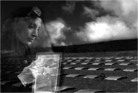 """Gabriele Bandinelli """"Cimitero militare germanico Passo della Futa 5"""" - Sez. RRSP 1° Premio"""