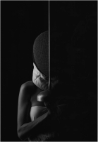 """Alessandro Burato """"La metà oscura"""" - Sez. Stampe BN 1° Premio"""
