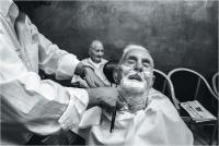 "Salvo Alibrio ""ll barbiere"" - Sez. Stampe BN Premio Ex-aequo"