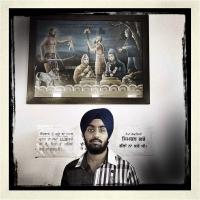 """Giovanni Brighente """"Comunità Sikh 6"""" - Truciolo d'Oro"""