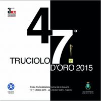 47° Truciolo d'Oro 2015 - copertina