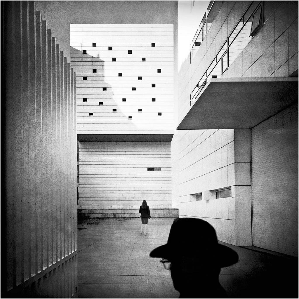 """Enrico Patacca """"Mobile city 6"""" - Truciolo d'Oro"""