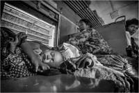 "David Marciano ""Myanmar railway 1"" - Sez. Stampe BN Premio ex-aequo"