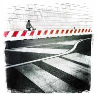 """Enrico Patacca """"Mobile color street 4"""" - Truciolo d'Oro"""
