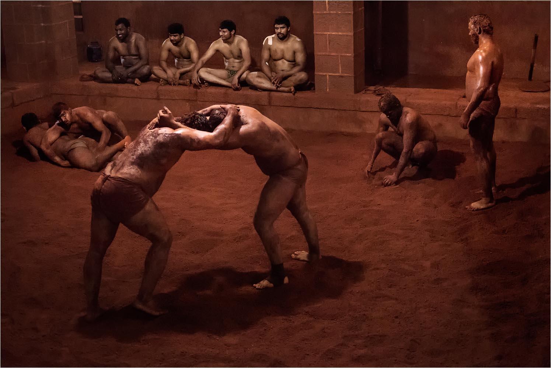 "David Marciano ""Kurthi, l'antica lotta libera indiana 02"" - Truciolo d'Oro"