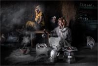 """Massimo Tommi """"Coffee time"""" - Sez. Stampe Colore Premio ex-aequo"""