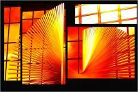 """Andronico Claudio """"Francoforte duemila e... (Colori irreali di un insolito tramonto: l'ultimo. Tasselli di un'immagine che cerca di ricomporsi senza alcun esito a simboleggiare un futuro ormai concluso.  Dedicato a Conc 05"""" (2020)"""