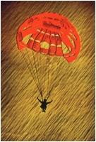 """Italo Di Fabio """"Il paracadute rosso"""" - Sez. Diapositive a Colori Cat. Soggetti Vari 1° Premio"""