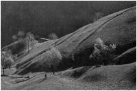 """Luigi Pedrali """"Verso l'Alpe"""" - Sez. Diapositive a Colori Cat. Paesaggio 3° Premio"""