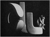 """Massimo Terreni """"Composizione n. 1"""" - Sez. Stampe BN Cat. Ritratto e figura Ambientata 2° Premio"""