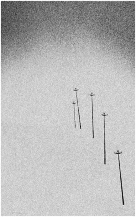 """Ugo Col """"Gli ultimi cinque"""" - Sez. Stampe BN Cat. Paesaggio 1° Premio"""