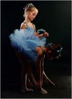 """Lina Orselli """"Omaggio a Degas"""" - Sez. Stampe a Colori 3° Premio"""