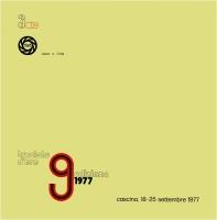 9° Truciolo d'Oro 1977 copertina