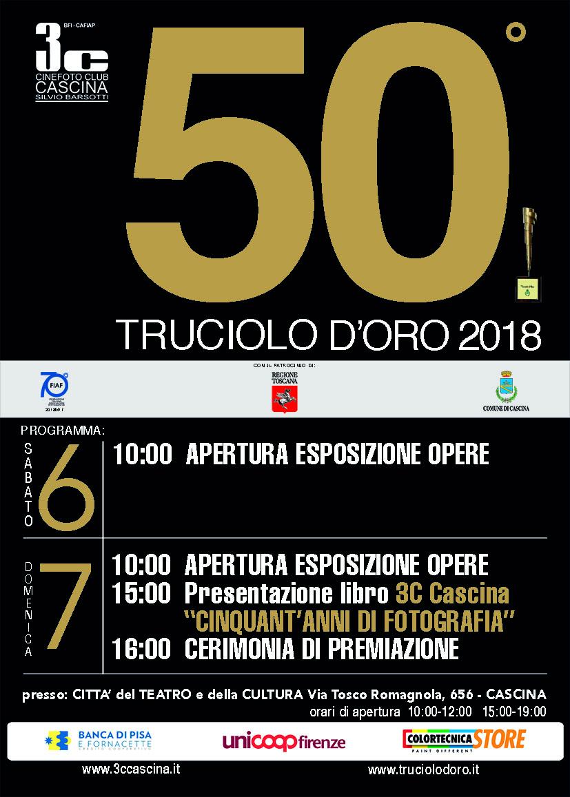50° TRUCIOLO D'ORO 2018 – Cerimonia di premiazione